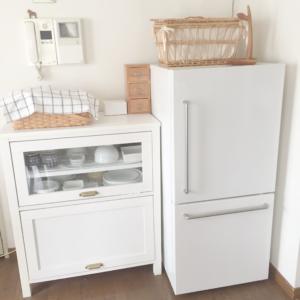 無印良品 冷蔵庫まわり