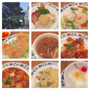 重慶飯店みなとランチコース