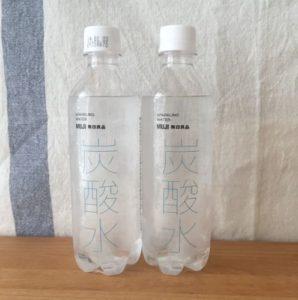 無印良品 天然水と炭酸水